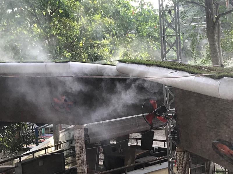 Lắp đặt máy phun sương giá rẻ tại Hồ Chí Minh