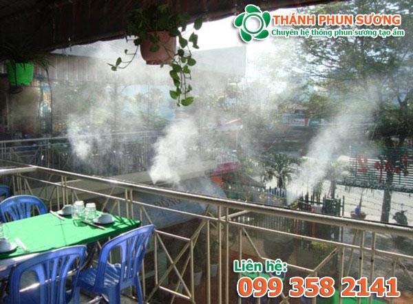 Dịch vụ sửa chữa máy phun sương giá rẻ tại HCM.